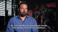 Entrevista a Ben Affleck de 'Batman v Superman: El Amanecer de la Justicia'