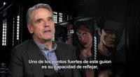 Entrevista a Jeremy Irons de 'Batman v Superman: El Amanecer de la Justicia'