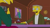 Sneak Peek 'Los Simpson' Episodio 'The Burns Cage' Temporada 27 #2