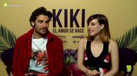 """Álex García y Natalia de Molina: """"'Kiki, el amor se hace' es un buen polvo"""""""