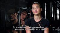 Entrevista a Gal Gadot de 'Batman v Superman: El Amanecer de la Justicia'