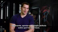 Entrevista a Henry Cavill de 'Batman v Superman: El Amanecer de la Justicia'
