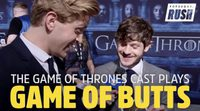 Los actores de 'Juego de Tronos' juegan a Game of Butts