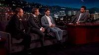 El beso entre Theon y Ramsay Bolton en el programa de Jimmy Kimmel