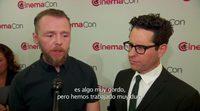 'Star Trek: Más Allá' Entrevista a J.J. Abrams y Simon Pegg