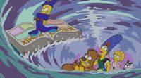 'Los Simpson' Gag del sofá Disney